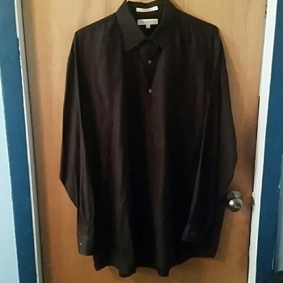 561532a8c50 Joseph Abboud Other - Joseph Abboud black button-down dress shirt LT